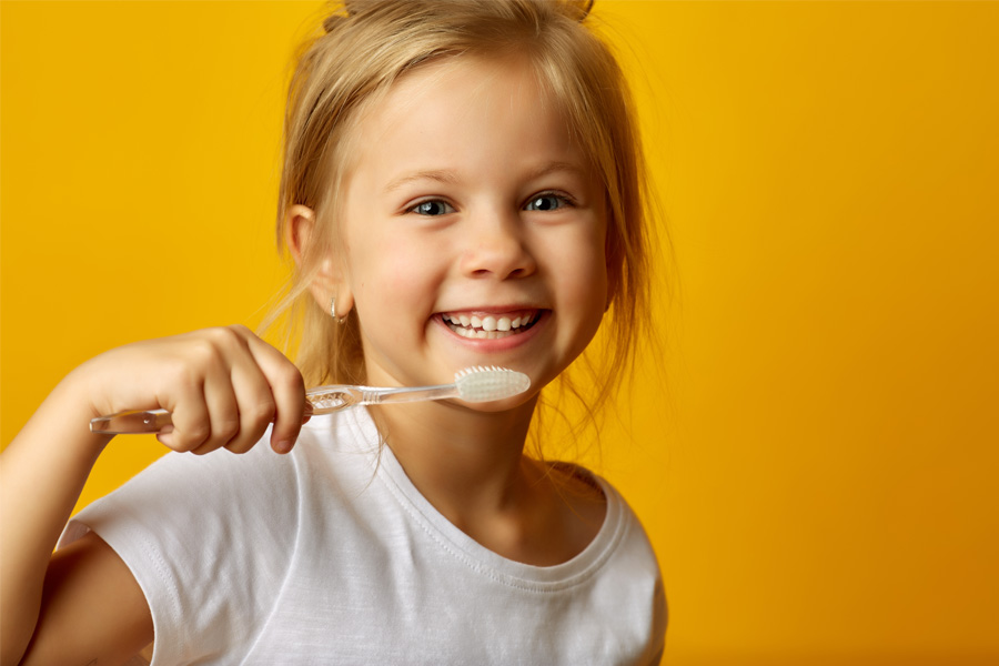Dr Nita Pai's Kids Dental Sydney-Brushing