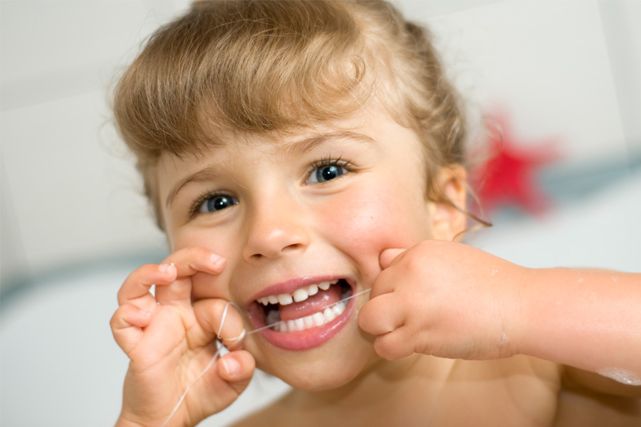 Dr Nita Pai's Kids Dental Sydney-Flossing